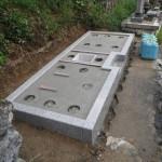 大淀町で基礎コンクリートを仕上げました