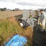 大和高田市営土庫墓地で工事開始しました。