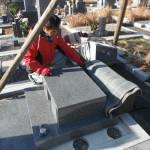 橿原市の香久山墓園で新規の墓石工事が完成しました。