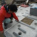 奈良市内でお墓の新設の墓石工事をいたしました。