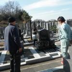 橿原市営香久山墓園でお墓の墓石新設工事を完成いたしました。
