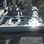橿原市内でお墓の基礎工事を致しました。