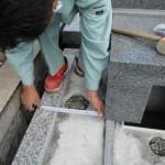 橿原市内で耐震墓石完成いたしました。