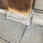 石に愛着を持ち、古い柱石をよみがえらせることが出来ました。