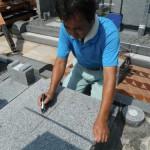 高取町の壺阪山霊園で2件の墓石工事を完成いたしました。
