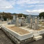 王寺霊園でお墓工事を本格的に開始しました