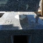 地震からお墓を守るために!
