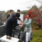 橿原市営香久山墓園にて2件の開眼式を行いました