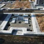 橿原市 香久山墓園でお墓の基礎工事をいたしました。