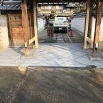 橿原市内で石貼り施工完了しました。