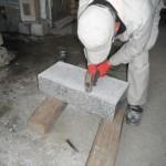 橿原市のお墓で階段の安全化工事をいたしました。