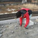 奈良市でお墓(墓石)の基礎工事を行いました。