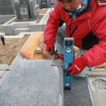 橿原市内で墓石の工事を仕上げいたしました。