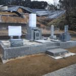 奈良市でのお墓工事(巻石内部)が完成いたしました。