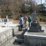 奈良市でのお墓工事竣工立ち合いとお寺様の山門工事が竣工をいたしました。