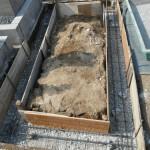 橿原市内で新規墓石・巻石工事にかかりました。