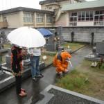 橿原で耐震施工と桜井で新規墓石工事に着手しました。