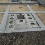 橿原市営香久山墓園で地震対策ほか工事着手いたしました。
