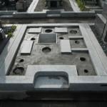 橿原市営香久山墓園で耐震施工石碑をお建てしました。