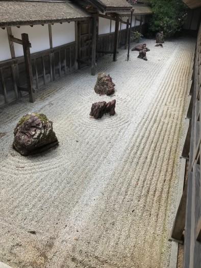 高野山金剛峰寺石庭 (3)