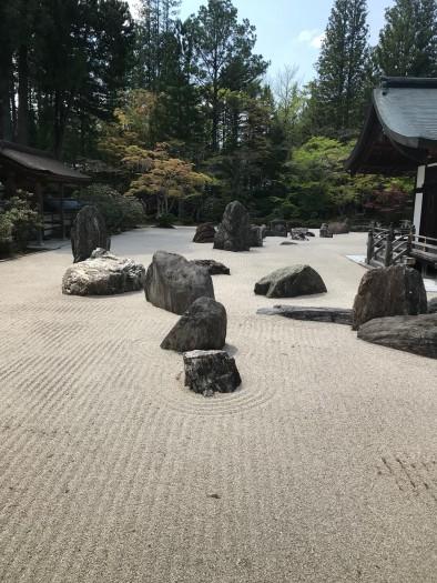 高野山金剛峰寺石庭 (1)