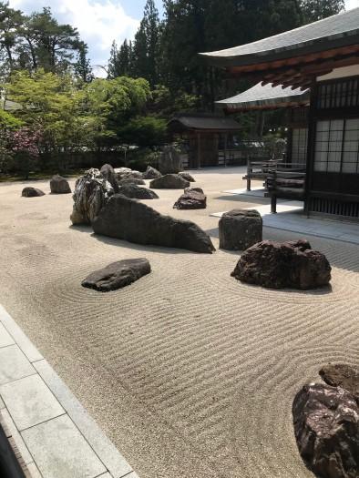 高野山金剛峰寺石庭 (2)