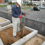 橿原市内でお墓・墓石の仕上げ工事をいたしました。
