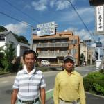 お墓のお引越しで、愛媛県の2か所に参りました。