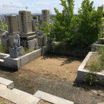 橿原市内でお墓じまい!?橿原市営香久山墓園で巻石の修繕をいたしました。