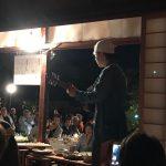お月見会が奈良市内のお世話になっているお寺様にておこなわれました。