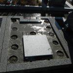 香久山墓園で新規にお墓工事に着手しました