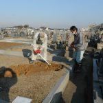 春のお彼岸に向け、新規お墓工事が完成いたします。