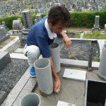 橿原市営香久山墓園で新規お墓の工事に着手しました。また、橿原市営香久山墓園で工事中の2件のお墓の工事が完成いたしました。